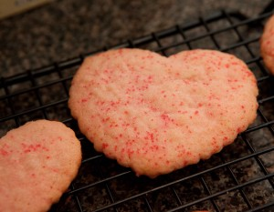 dairy free valentine's day cookies